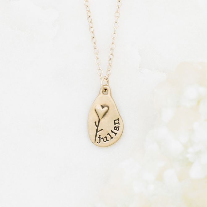 Jumble Of Love Necklace {10K Gold}
