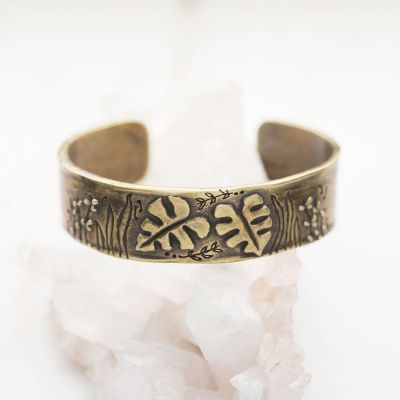 Thrive Cuff {Bronze-Plated}