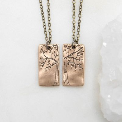 Rooted In Love Necklace Set {Bronze}