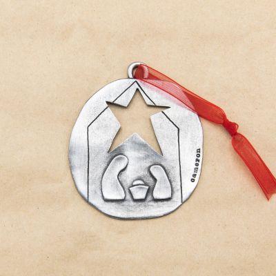 Nativity Ornament {Pewter}