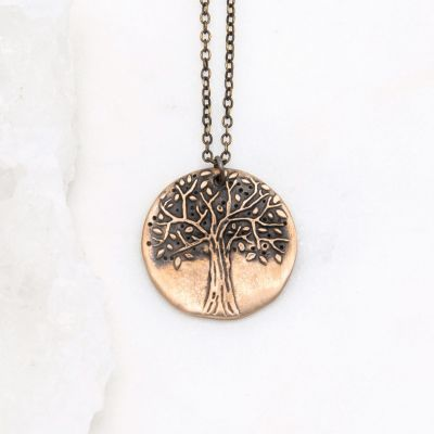 Family Tree Necklace {bronze}