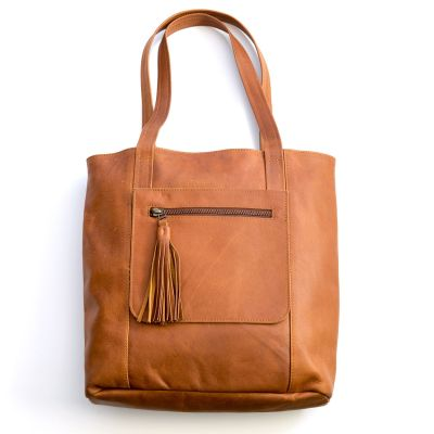 we have love tote {honey brown}