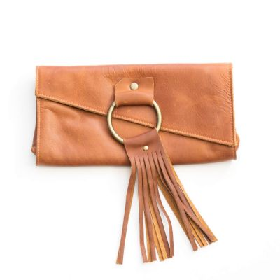 your heart in mine boho wallet {honey brown}
