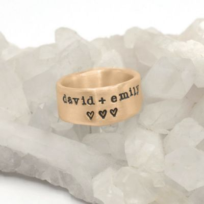 Band Together Ring {14k Gold}