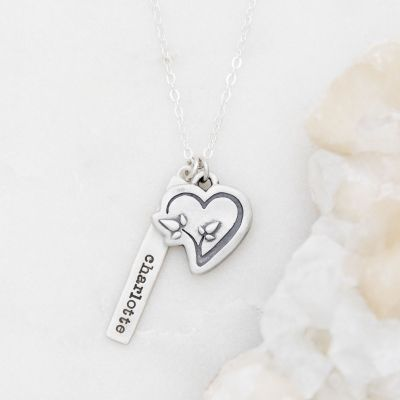 CDLS Necklace {Sterling Silver}