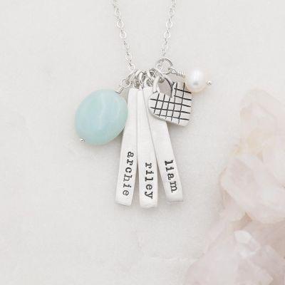 Cross My Heart Necklace {Sterling Silver}