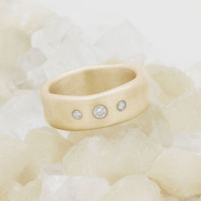 Faith Hope and Love Ring {14k Gold}