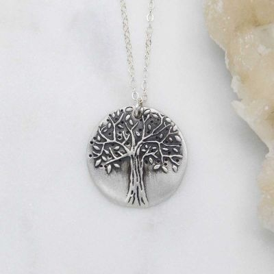 Family Tree Necklace {sterling silver}