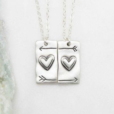 I Love You Necklace Set {Sterling Silver}