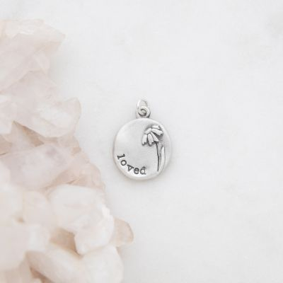 Daisy Charm {Sterling Silver}