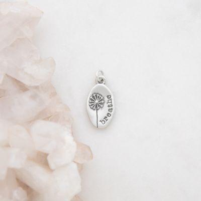 Dandelion Charm {Sterling Silver}