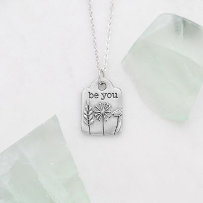 be you {pewter} necklace