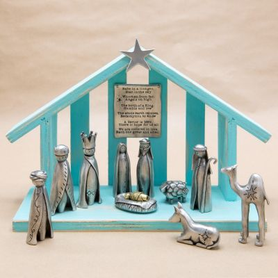 A Savior Is Born Nativity Set {Limited Edition}