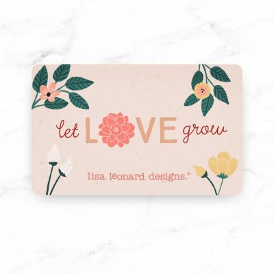 E-Gift Card (Let love grow)
