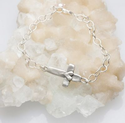 Cross of Faith Bracelet {Sterling Silver}