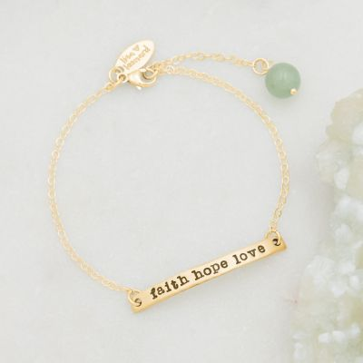 Carry My Heart Bracelet {14K Gold}