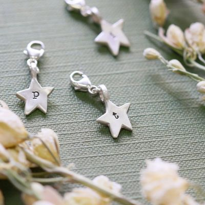 Twinkle Little Star Bracelet Charm {Sterling Silver}