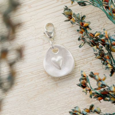 Full of Love Bracelet Charm {Sterling Silver}