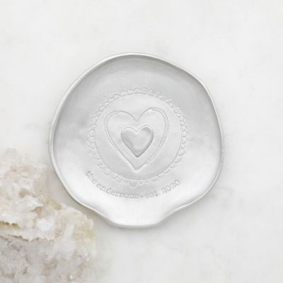 Heart of the Home Spoon Rest {Pewter}