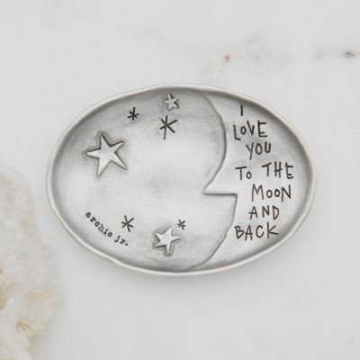 Moon and Back Keepsake Dish {Pewter}