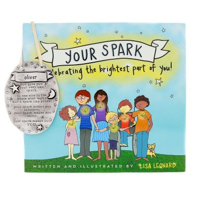 Your Spark Gift Set - Book and Plaque