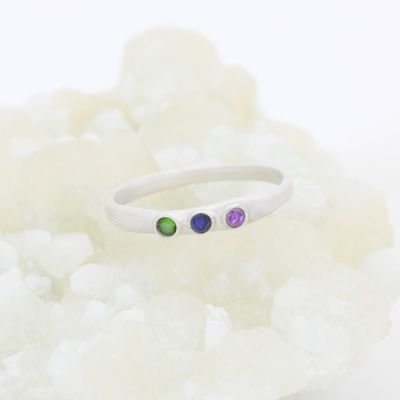 Mother's Ring {Sterling Silver}