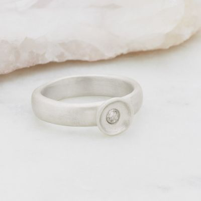 Love Surrounds Me Ring {Sterling Silver}