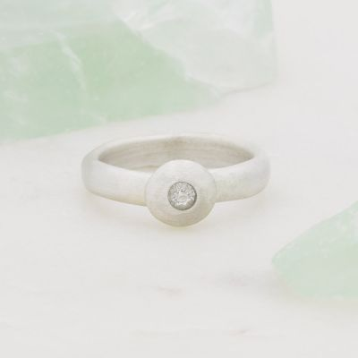 Our Love Endures Ring {10k White Gold}