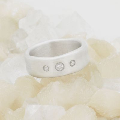 Faith Hope and Love Ring {Sterling Silver}