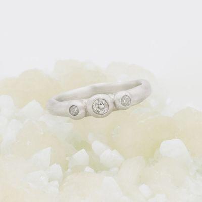 Togetherness Ring {10k White Gold}