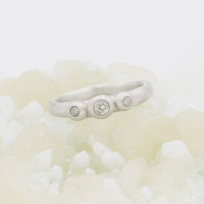 Togetherness Ring {Sterling Silver}