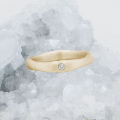 Classic Stacking Ring {14k Gold}