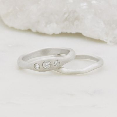 Be Mine Ring Pair {Sterling Silver}