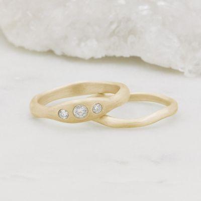 Be Mine Ring Pair {14k Gold}