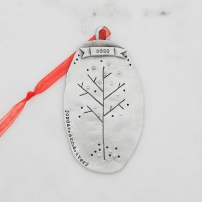 Family Tree Ornament {Pewter}
