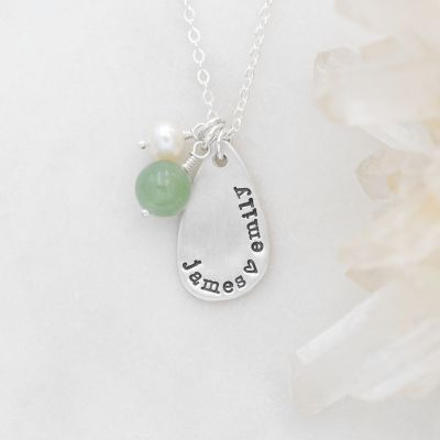 Dewdrops Necklace {Sterling Silver}