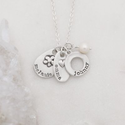 Jumble Of Charms Necklace {Sterling Silver}