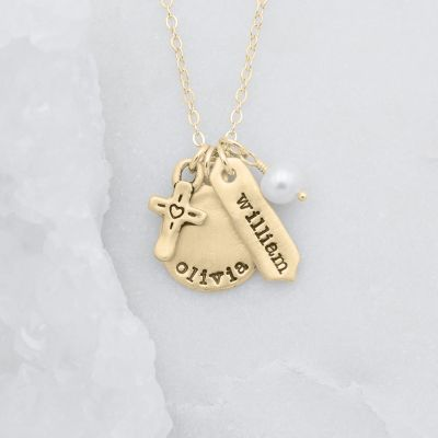 Storyteller Necklace {14k Gold}