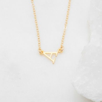 My Monogram Necklace {14k Gold}
