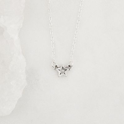 Your Spark Necklace - 1 Star {Sterling Silver}