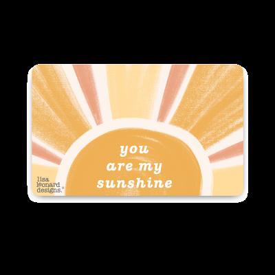 E-Gift Card (Sunshine)