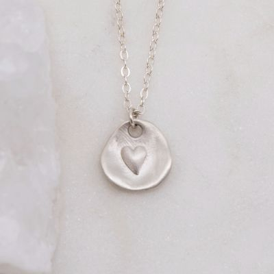 Full of Love Necklace {Sterling Silver}