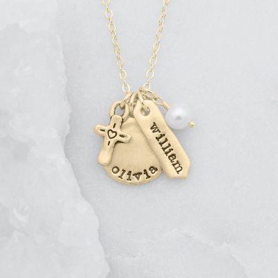 Storyteller Necklace {14k Gold}