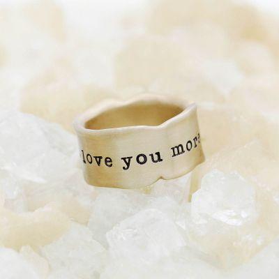 Very Fine Line Ring {14k Gold}