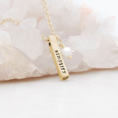 Word of the Year Necklace {14k Gold}