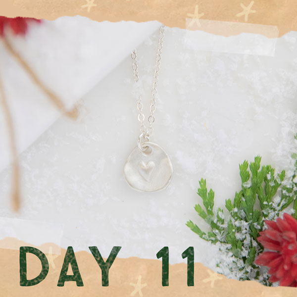 Day 11 - Full of Love necklace
