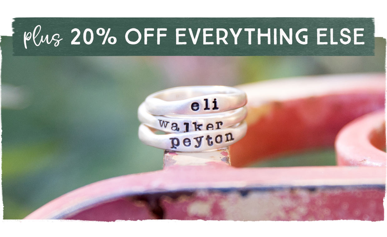 Plus, 20% Off Everything Else!