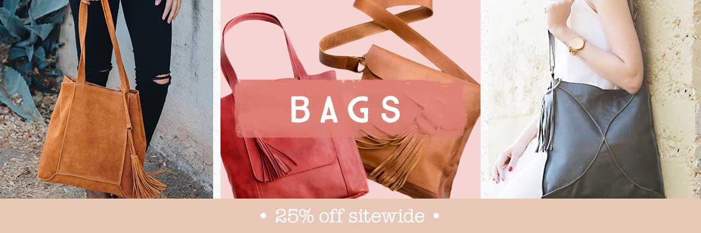 Bags by Lisa Leonard