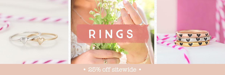 Rings by Lisa Leonard