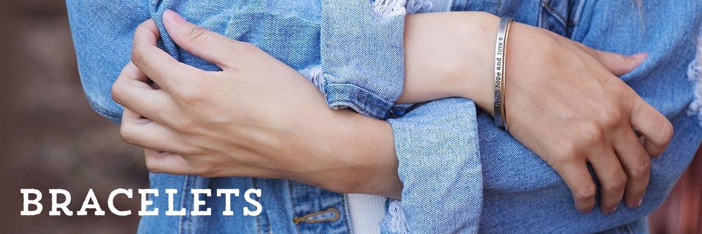 Bracelets by Lisa Leonard